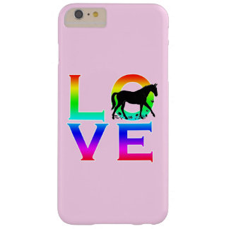 LOVE: Horses Barely There iPhone 6 Plus Case