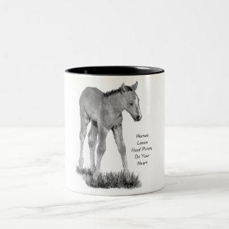 Love Horses: Hoofprints On Your Heart: Pencil Mugs