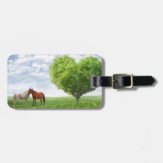 Love Horses Luggage Tag