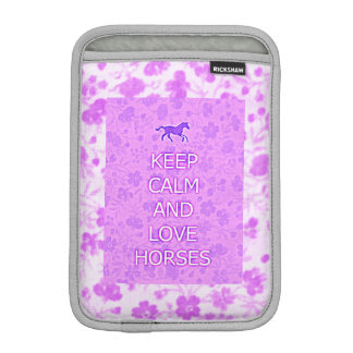 Love Horses Purple Cowgirl Sleeve
