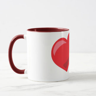 Love hot dogs!  Customizable: Mug