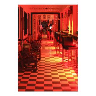 LOVE Hotel and Restaurant, Grand Case St. Martin Photo Print