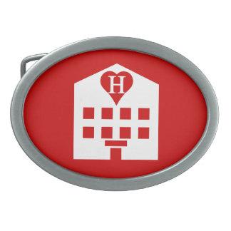 Love Hotel Japanese Emoji Belt Buckle