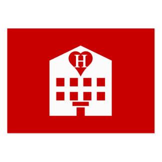 Love Hotel Japanese Emoji Large Business Cards (Pack Of 100)