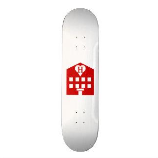 Love Hotel Japanese Emoji Skateboard