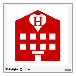 Love Hotel Japanese Emoji Wall Decal