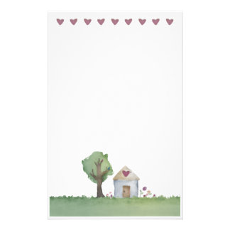 love house home garden stationery