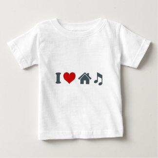Love House Music Baby T-Shirt
