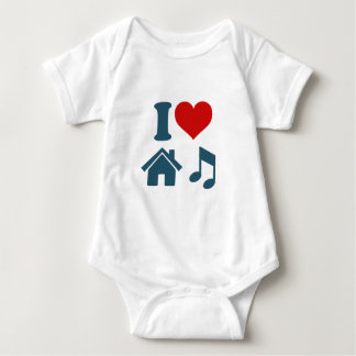 Love House Music Tee Shirt