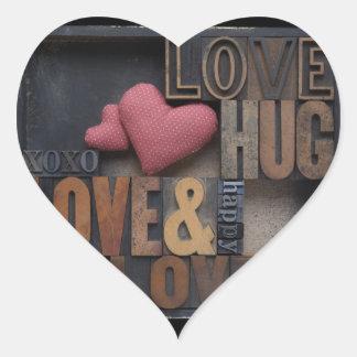 love hug hearts heart stickers