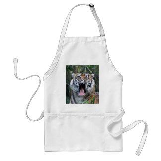 Love hunger Sumatran tiger Adult Apron