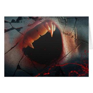 Love Hurts, Bloody Vampire Bite Card