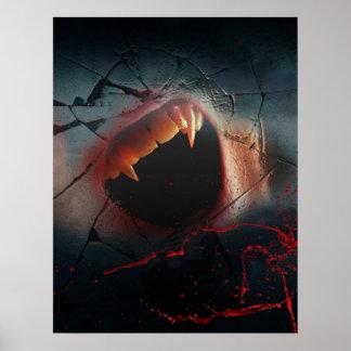 Love Hurts, Bloody Vampire Bite Poster