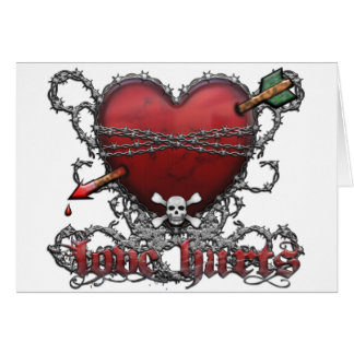 Love Hurts Cards