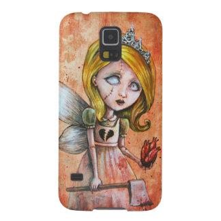 Love Hurts Dark Valentines Undead Princess Galaxy S5 Case