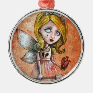 Love Hurts Dark Valentines Undead Princess Christmas Ornament