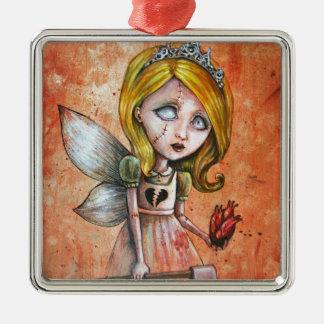 Love Hurts Dark Valentines Undead Princess Ornament