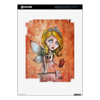 Love Hurts Dark Valentines Undead Princess iPad 3 Skins