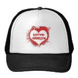 Love Hurts Mesh Hats