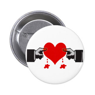 Love Hurts Pinback Button