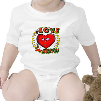 Love Hurts T-shirts and Gifts