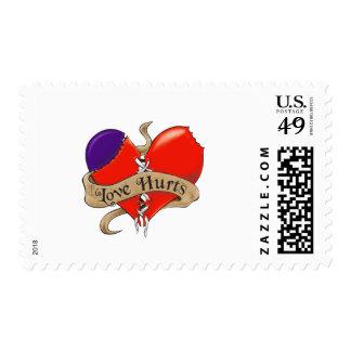 Love Hurts U.S. Postage