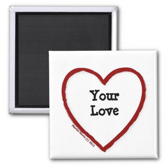 Love - I Heart (Fill In) - Magnet
