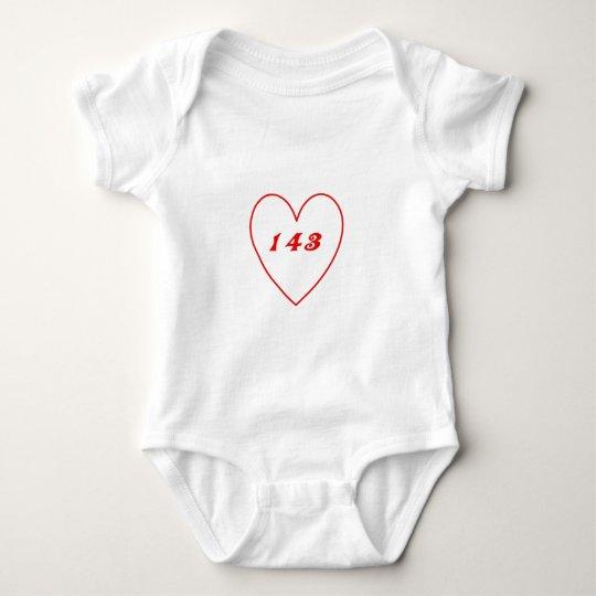 Love, I Love You Baby Bodysuit