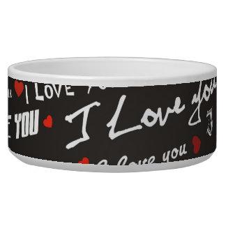 Love I Love You Bowl