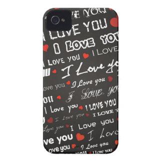 Love I Love You Case-Mate iPhone 4 Case