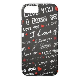 Love I Love You Hearts iPhone 8/7 Case