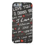 Love I Love You iPhone 6 Case