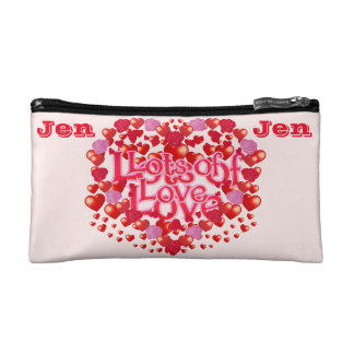 Love,I love you,Lots of Love,Family Makeup Bag