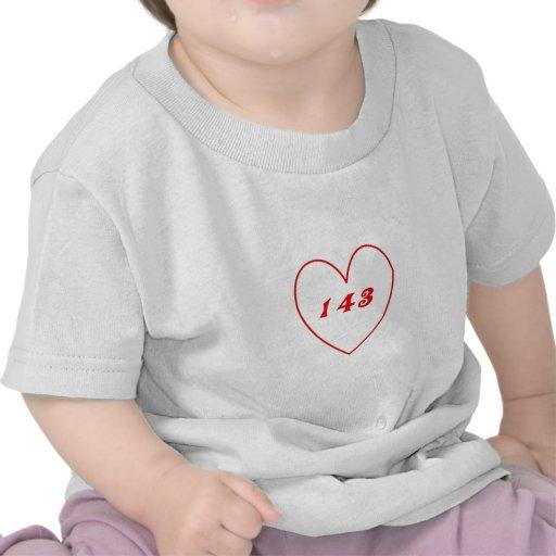 Love, I Love You Tee Shirts