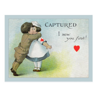 Love I Saw you First Postcards