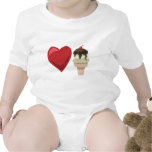 Love ice cream!  Customizable: Baby Creeper