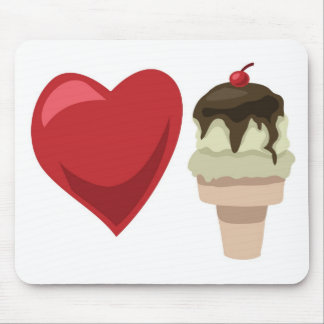 Love ice cream!  Customizable: Mouse Pad
