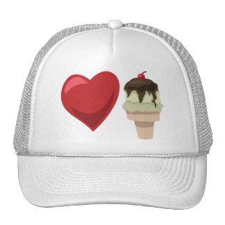 Love ice cream!  Customizable: Trucker Hat