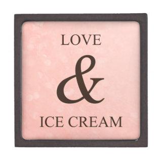 Love & ice cream gift box
