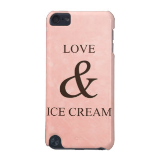 Love & ice cream iPod touch 5G case