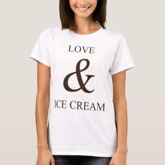 Love & ice cream T-Shirt