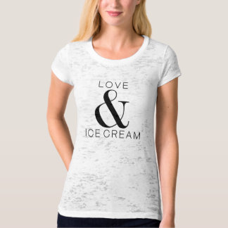 *Love & Ice cream T-Shirt