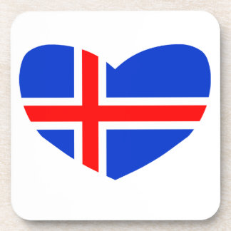Love Iceland Drink Coaster