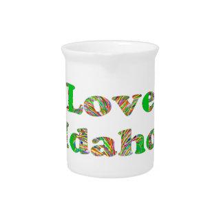 LOVE IDAHO DRINK PITCHER