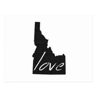 """Love Idaho""""I Love Idaho"""" """"I heart Idaho"""" """"Gem Stat Postcard"""