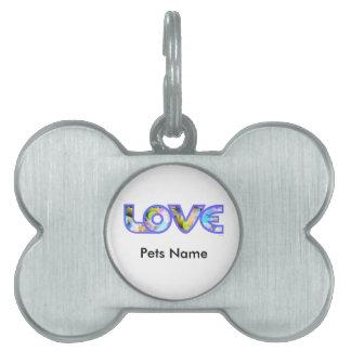 LOVE II PET TAG