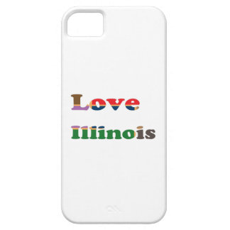 LOVE ILLINOIS iPhone 5 COVER