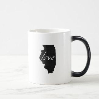 Love Illinois Magic Mug