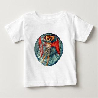 Love in a Mist by Burne-Jones Baby T-Shirt