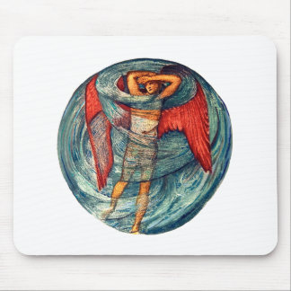 Love in a Mist by Burne-Jones Mouse Pad